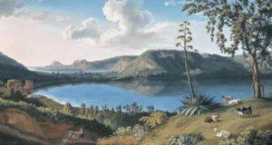 Lago Averno il famoso lago vulcanico della Campania