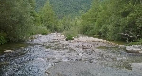 Volturno il fiume piu lungo della Campania